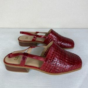 💫 Glacee | Fritzy Woven Sandals in Red